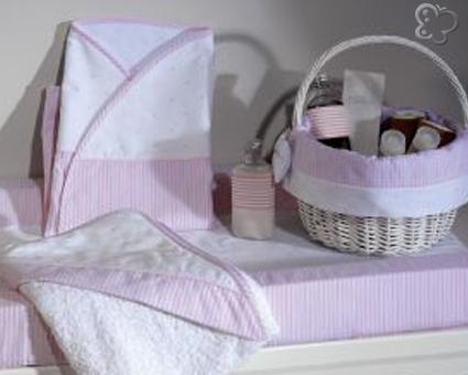 Cambiador bebe rosa Belino Baby