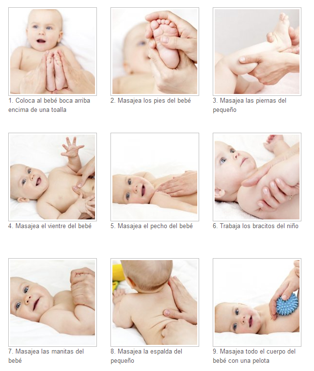 Masaje del bebe