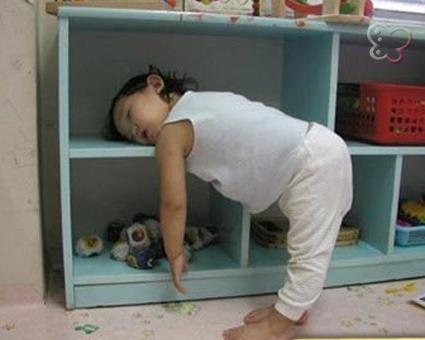 Bebe agotado