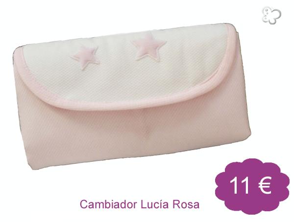 Cambiador Lucía Rosa