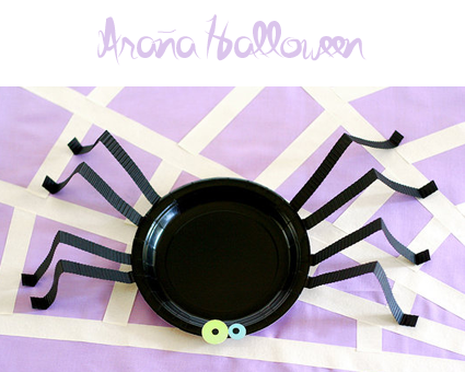 Araña Halloween