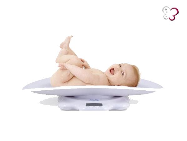 peso del bebe